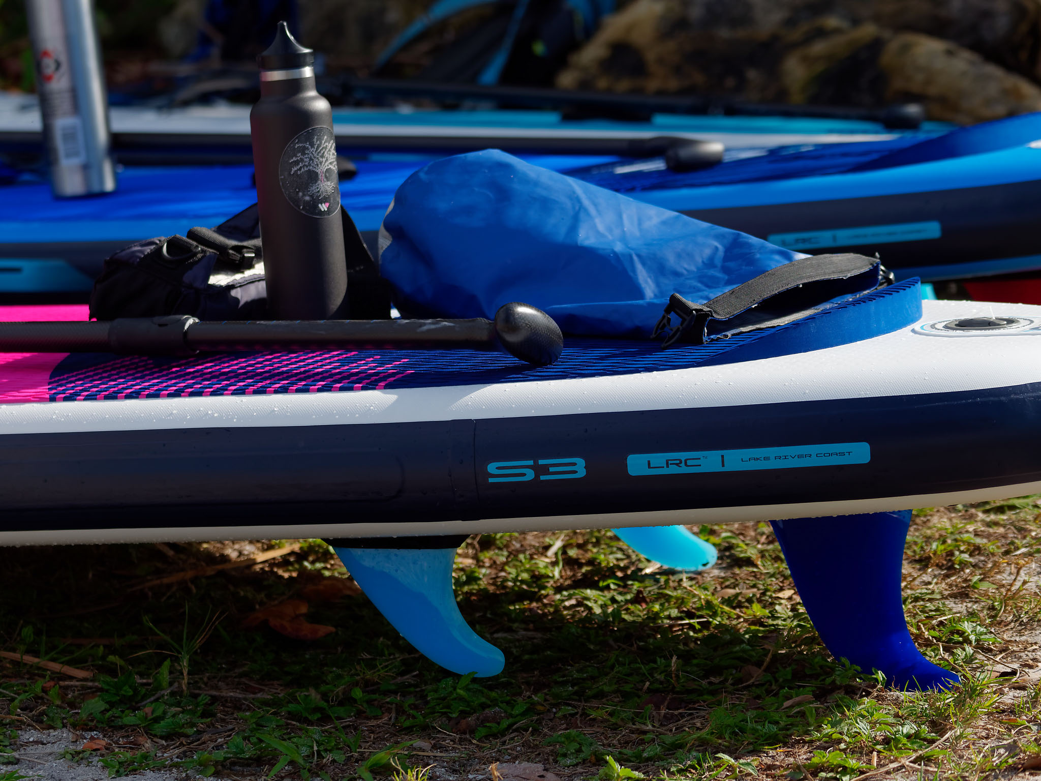 LRC inflatable fin system